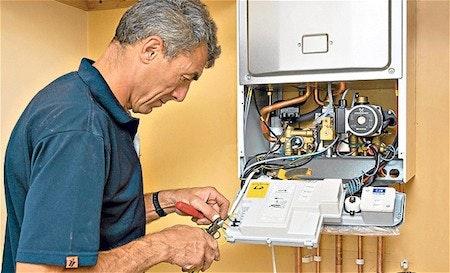 Boiler cover guide