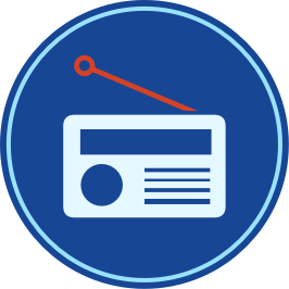 Usage-radio