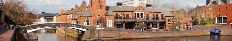 Birmingham Canal West Midlands England