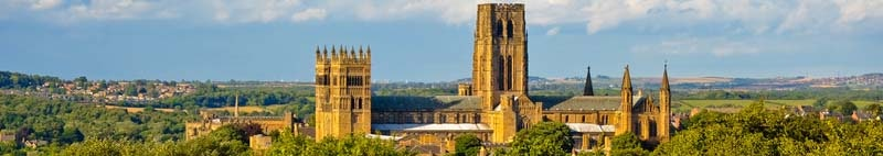 Durham castle and cathedral United Kingdom