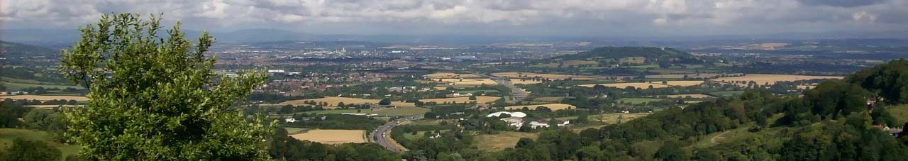 View of Gloucestershire
