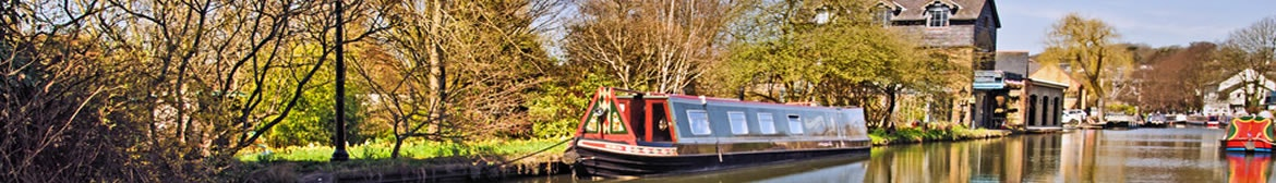 The Grand Union Canal in Hertfordshire