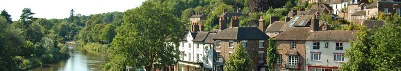 Ironbridge town in Shropshire, United Kingdom