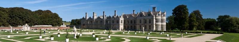 Kirby Hall and Gardens Northamptonshire United Kingdom