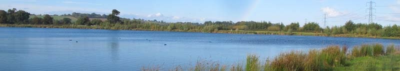 Lake at Hoveringham Nottinghamshire