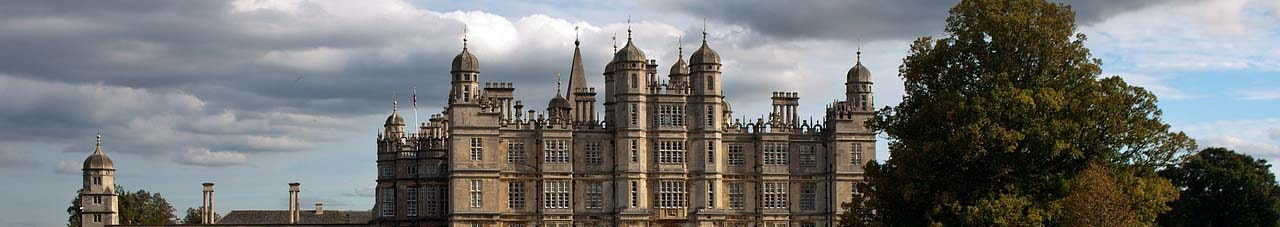 Burghley house Lincolnshire