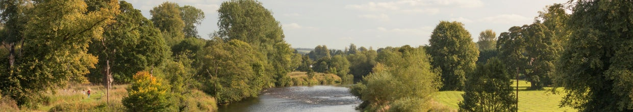 The River Clyde in South Lanarkshire