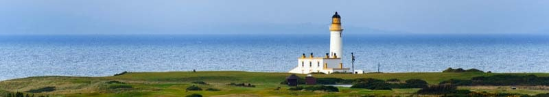 Tunberry lighthouse Ayrishire UK
