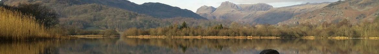 west cumbria landscape lake district england