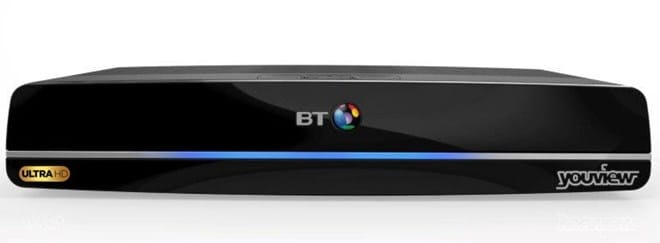 BT YouView set-top box
