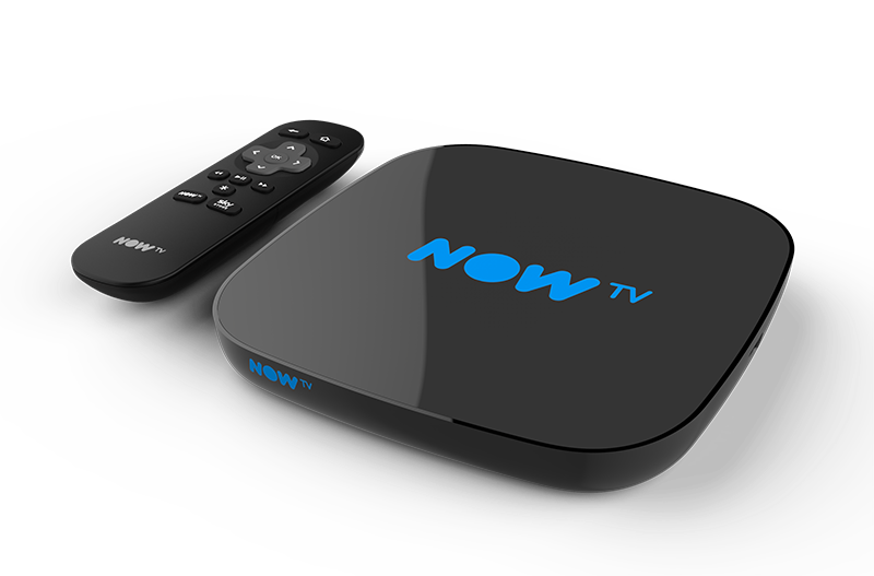 NOW TV Smart Box and remote