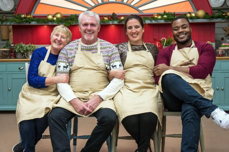 Great Christmas Bake Off with Selasi on Channel 4