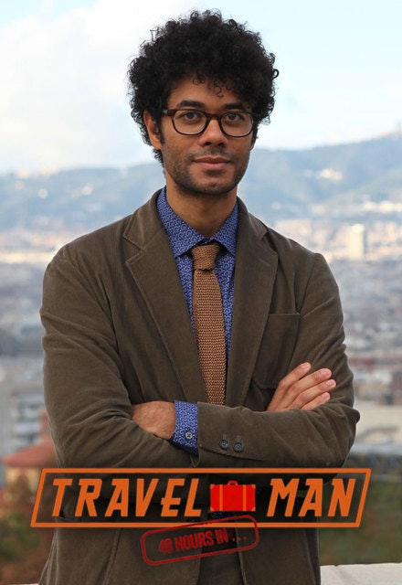 Richard Ayoade in Travel Man 48 Hours in Hong Kong