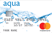 aqua classic with 0% Purchase offer for 6 months Credit Card