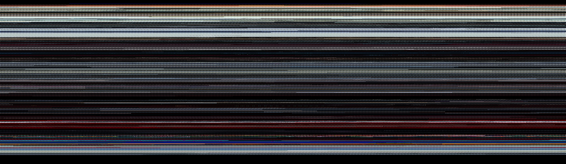 2001: A Space Oddysey compressed so that each frame is a single 5x5 pixel