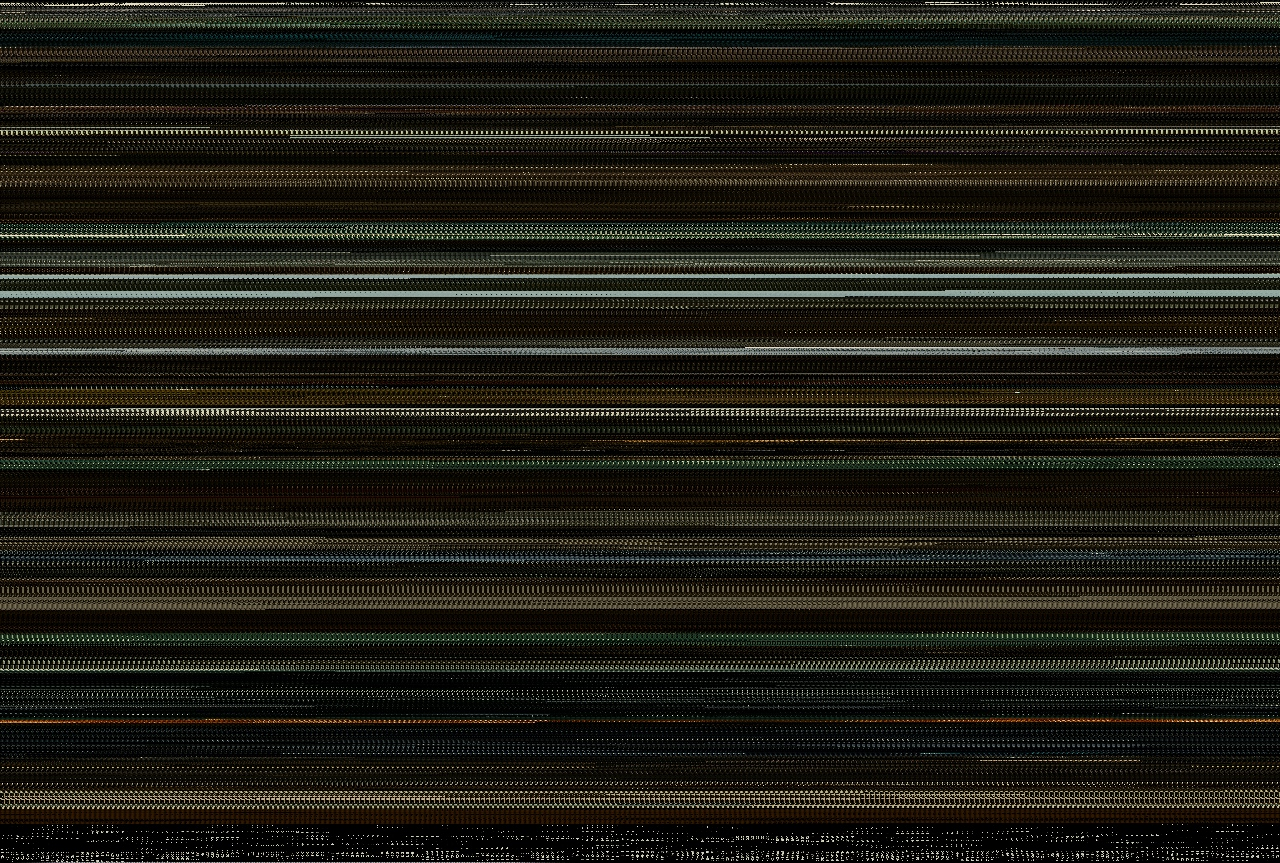 Harry Potter and the Half-Blood Prince compressed so that each frame is a single 5x5 pixel