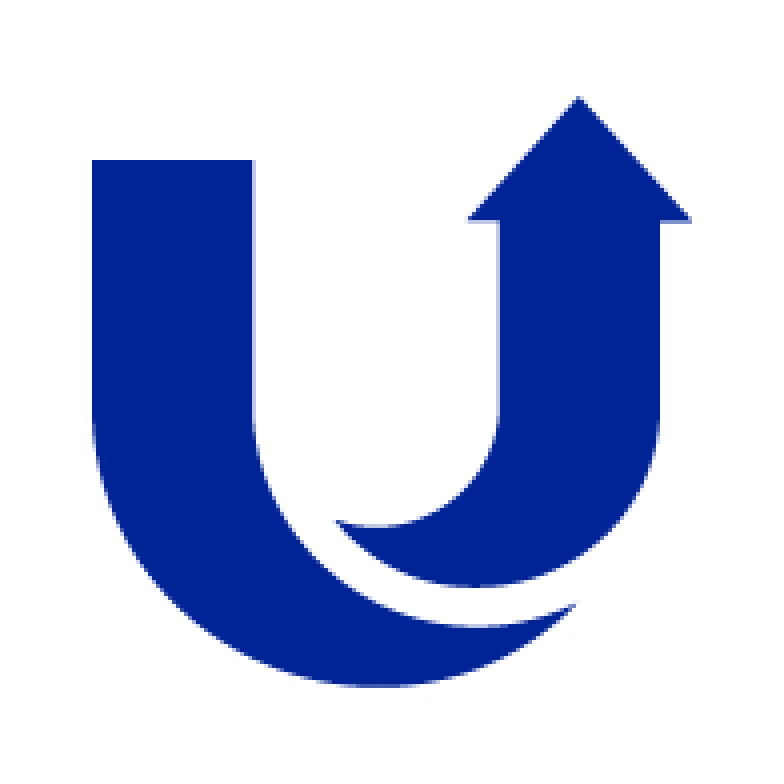 The uSwitch logo scaled to 4 times size