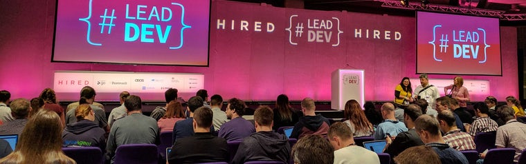 The Lead Developer UK conference - part one