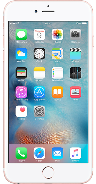 iPhone 6s Plus front