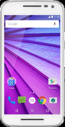 Motorola Moto E 2015 White