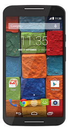 Motorola Moto X 2014 Black Leather