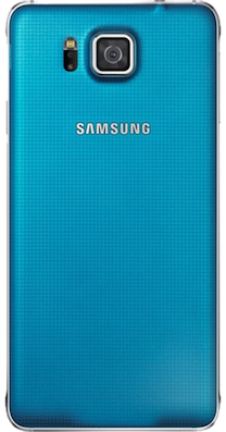 Samsung Galaxy Alpha Blue