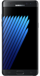 Samsung Galaxy Note 7 - Front