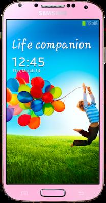 Samsung Galaxy S4 Pink