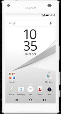 Sony Xperia Z5 Compact White