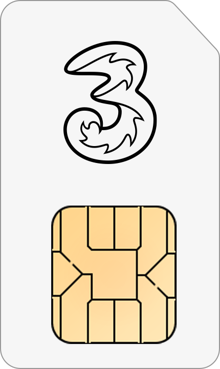 Three Mobile SIM only deal